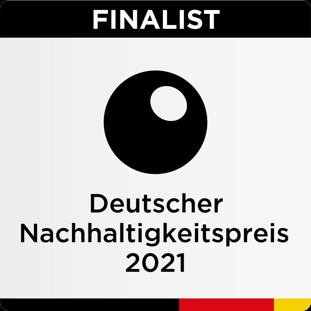 Siegel für Finalisten des Deutschen Nachhaltigkeitspreis