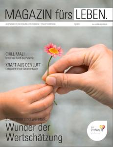 Cover MAGAZIN fürs LEBEN. Ausgabe 1/2021